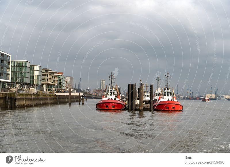 Watercraft Arrangement Beginning Hamburg Harbour Navigation Competition Elbe Inland navigation Port of Hamburg Tug
