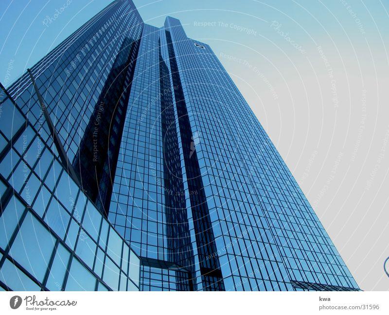 skyline / FRANKFURT Office building Architecture Work and employment Business