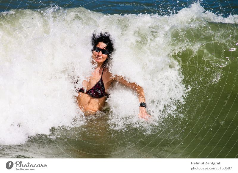 The not perfect wave - unexpected crusher Joy Swimming & Bathing Leisure and hobbies Vacation & Travel Trip Adventure Cruise Summer Beach Ocean Waves Aquatics