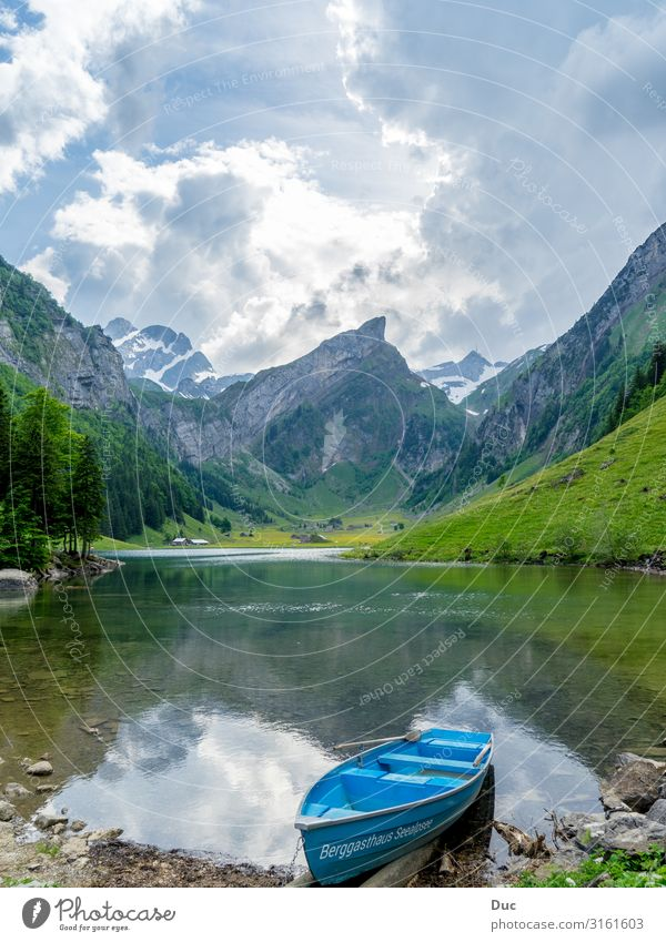 Seealpsee Joy Wellness Life Well-being Leisure and hobbies Vacation & Travel Tourism Adventure Mountain Hiking Aquatics Rowing Rowboat Environment Nature