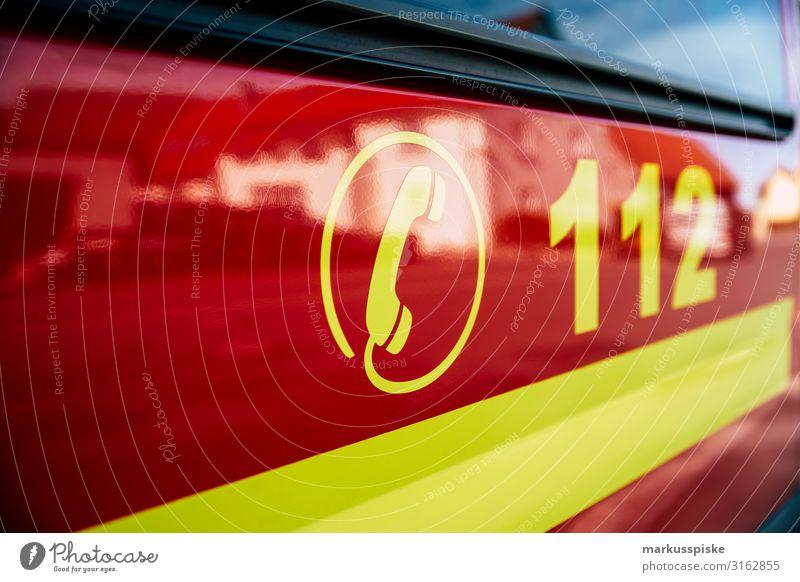Fire engine 112 Emergency call Human being Authentic 911 Action Alarm burn Blaze catastrophy conflagration damage danger dangerous demolished department