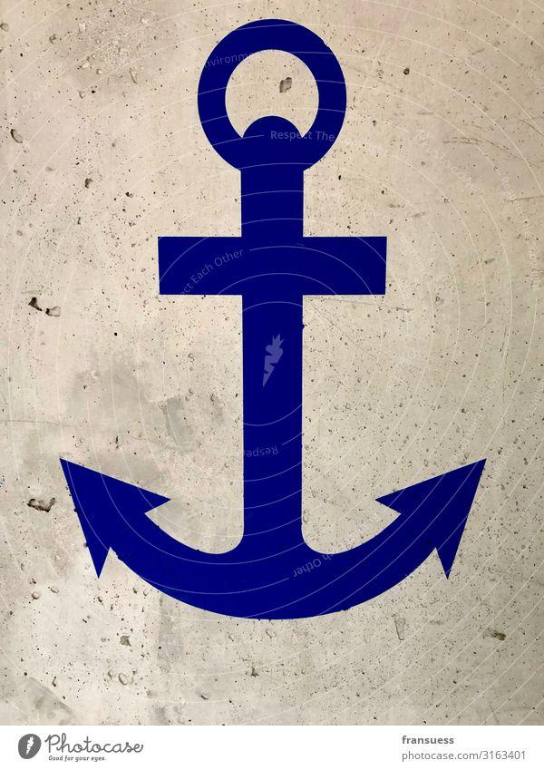 love of anchoring Sailor Captain Navigation Inland navigation Cruise Boating trip Passenger ship Cruise liner Steamer Container ship Sailboat Anchor Sign Ocean