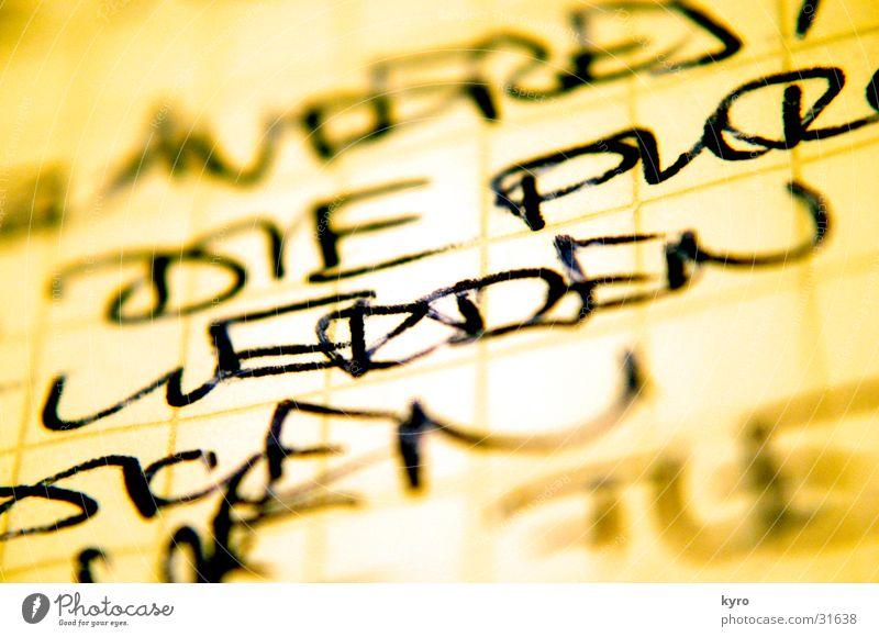 Yellow Characters Near Typography Handwriting Ink Ballpoint pen Writing utensil
