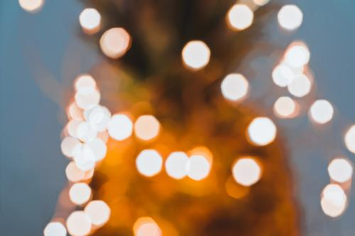Blurred fairy light glitter by Christmas lights Luxury Happy Beautiful Winter Decoration Lamp Night life Feasts & Celebrations Christmas & Advent New Year's Eve