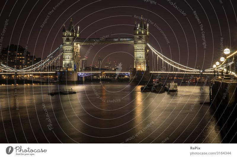 River Thames panorama at night. Lifestyle Design Wellness Vacation & Travel Tourism Trip Sightseeing City trip Economy Art Architecture Environment Nature