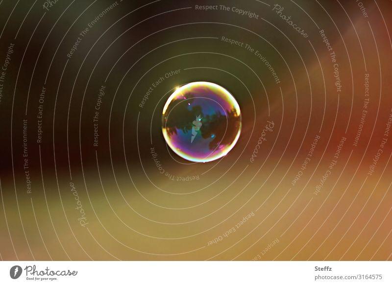 magic bubble Summer Sphere Glittering Round Beautiful Multicoloured Yellow Moody Happiness Serene Light heartedness Ease Uniqueness Joy Idyll