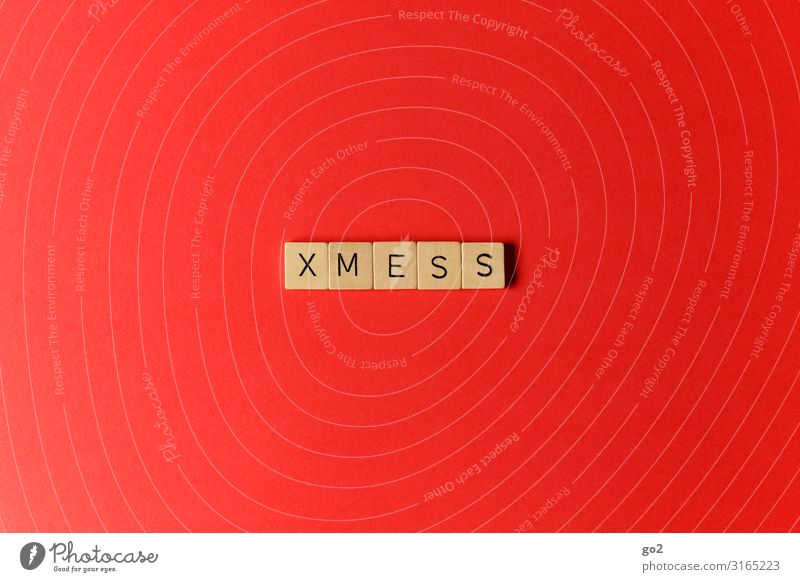 XMESS Playing Christmas & Advent Wood Sign Characters Esthetic Exceptional Red Stress Gluttony Lack of inhibition Debauchery Chaos Frustration Idea Inspiration