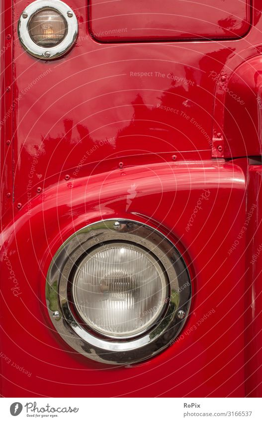 Detail of a classic london bus. Lifestyle Design Leisure and hobbies Vacation & Travel Tourism Sightseeing City trip Cruise Economy Trade Logistics Environment