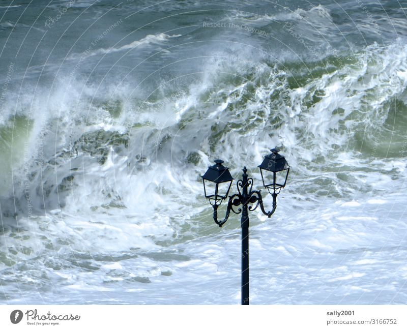 turbulent times... Water Gale Waves Coast Ocean English Channel Aggression Threat Maritime Rebellious Wild Adventure Apocalyptic sentiment Survive