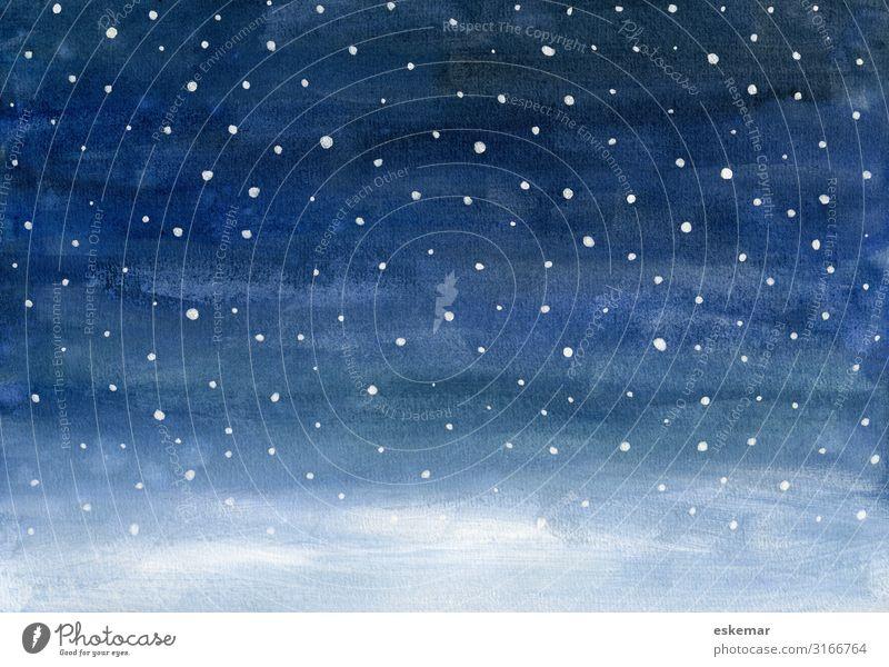 Sky Nature Christmas & Advent Blue Beautiful White Landscape Winter Dark Environment Cold Snow Feasts & Celebrations Art Snowfall Esthetic