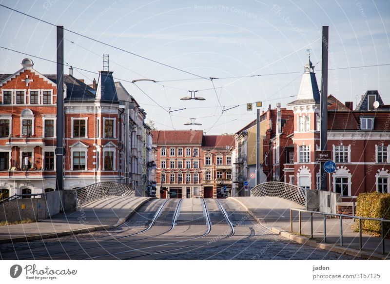 empty streets (7). Advancement Future Town Downtown Deserted House (Residential Structure) Bridge Building Architecture Transport Traffic infrastructure Street