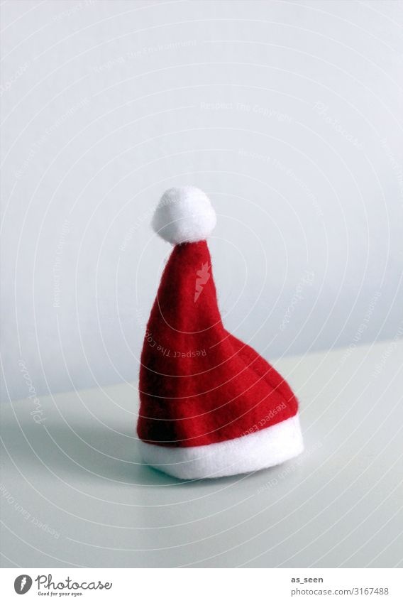 Christmas hat Leisure and hobbies Handicraft Feasts & Celebrations Christmas & Advent Cap Santa Claus hat Lie Stand Authentic Brash Happiness Hip & trendy