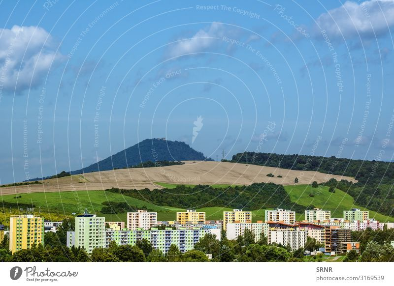 Presov Mountain Flat (apartment) House (Residential Structure) Environment Nature Landscape Sky Clouds Town Building Architecture Facade New Domicile