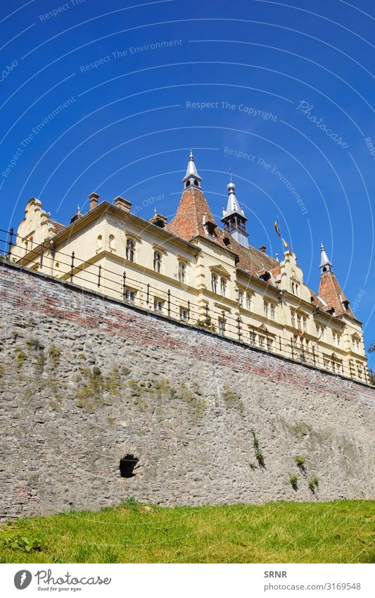 The Town Hall Sightseeing House (Residential Structure) Old town City hall Building Architecture Facade defensive wall Europe exterior historical landmark