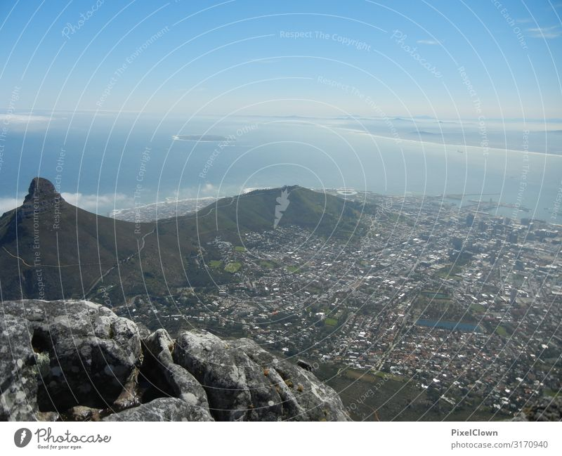 Cape Town Lifestyle Vacation & Travel Tourism Adventure Far-off places Sightseeing City trip Environment Coast Port City Manmade structures Building