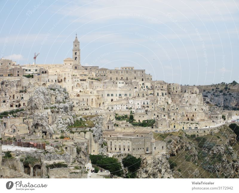matera Vacation & Travel Tourism Adventure Architecture Landscape Sky Rock Mountain Town Old town House (Residential Structure) Church Wall (barrier)