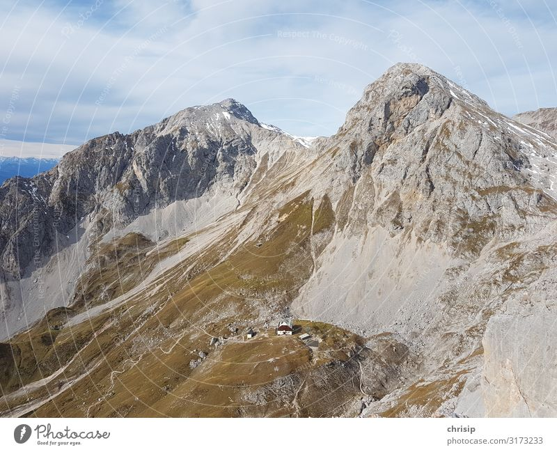 Guttenberg house Environment Nature Landscape Rock Alps Mountain sheikh lace donkey stone Peak Fantastic Infinity Moody Contentment Adventure Vacation & Travel
