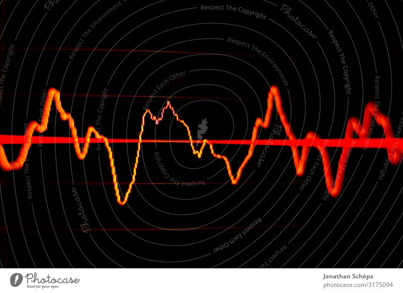 Red Black Waves Music Computer Adult Education Listening Media Economy Screen Radio (broadcasting) Crisis Share Sound Tone Stock market