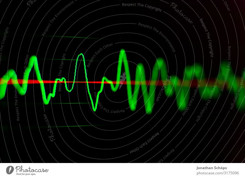 Green Black Waves Music Computer Adult Education Listening Media Screen Radio (broadcasting) Share Sound Tone Stock market Software Record