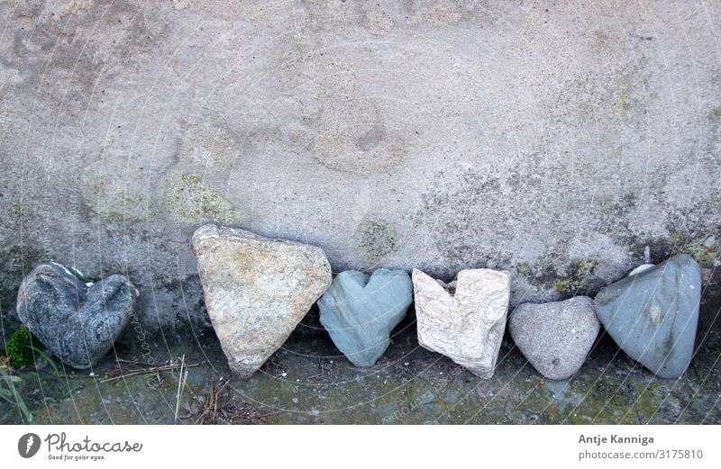 Stone Hearts Happy Decoration Valentine's Day Mother's Day Wedding Birthday Team Sculpture Collection Communicate Love Happiness Together Cuddly Emotions