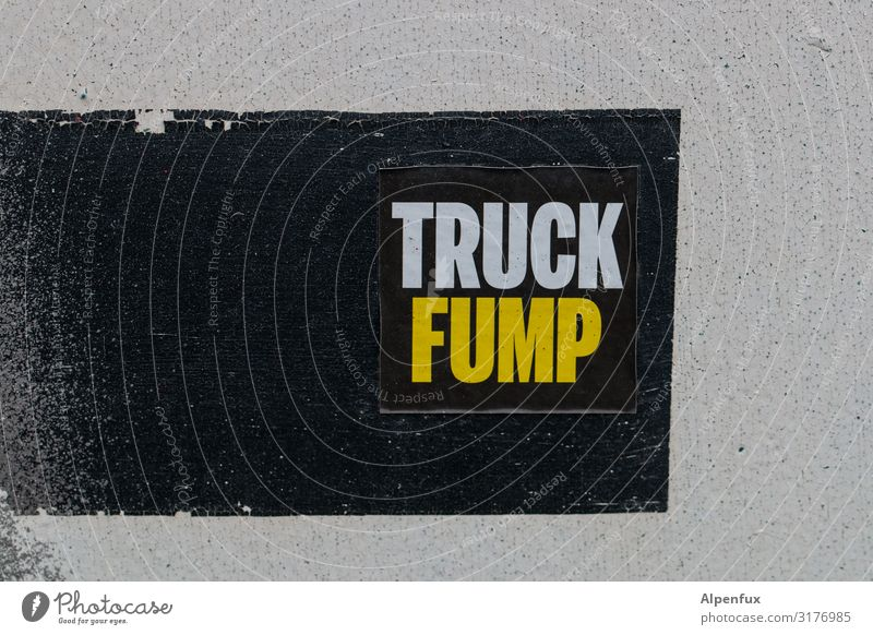 Truck Fump! UT HH19 Characters Graffiti To talk Responsibility Concern Disappointment Fear Fear of the future Dangerous Disbelief Perturbed Contempt Anger