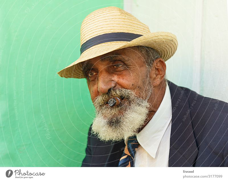 elegant grandfather III , trinidad - cuba Lifestyle Elegant Happy Island Human being Masculine Man Adults Male senior Grandfather Head Face Eyes Ear Nose Mouth