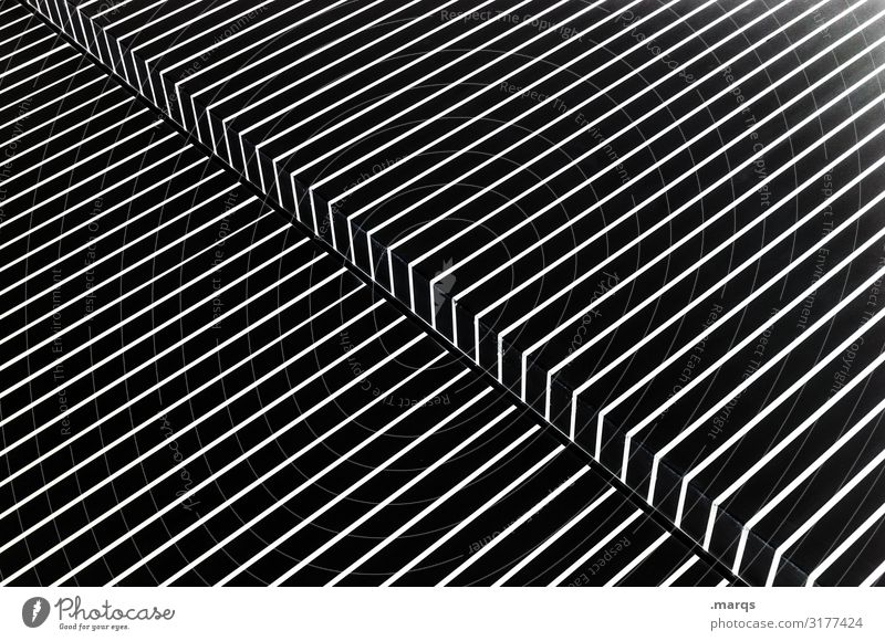 3300 | bend in the optics Design Abstract Line Sharp-edged Elegant White Style Illustration Pattern Diagonal Sterile Corner Surrealism Accuracy
