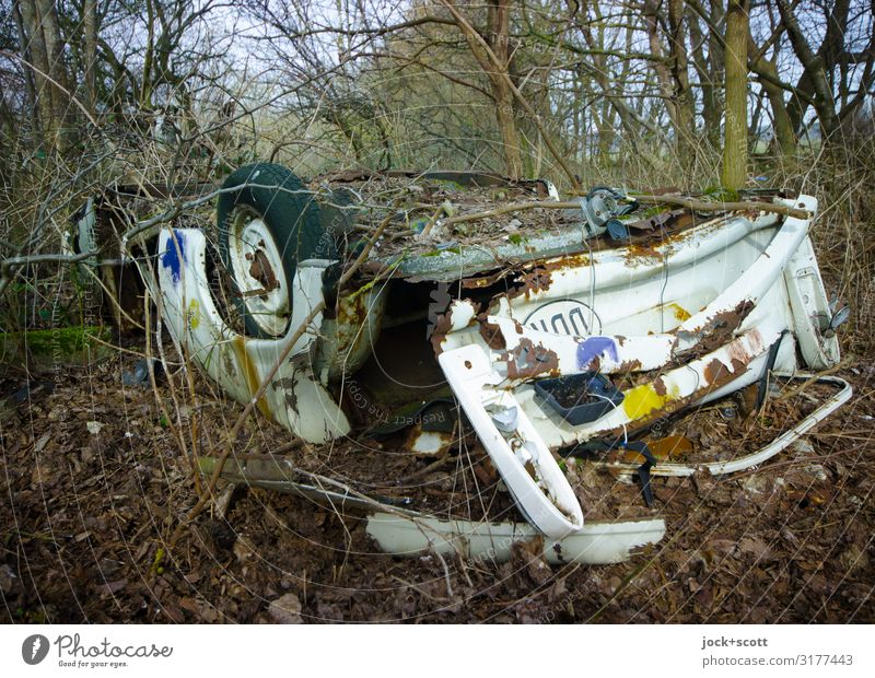 turning time GDR lost places Winter Total loss Turnaround Famousness Dirty Broken Under Apocalyptic sentiment Environmental pollution Past Transience