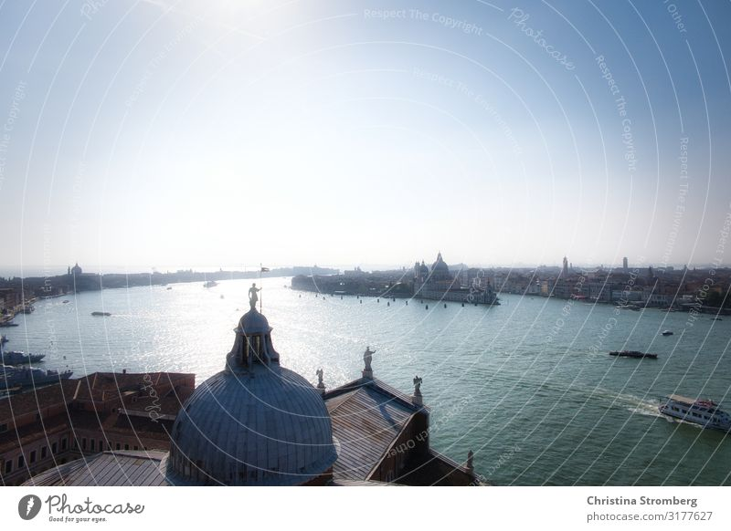 yearning for Venice San Giorgio Maggiore Town Port City Italy Europe Lagoon Venezia Maritime Water Dreamily Santa Maria della Salute italy daydream Dreams Happy