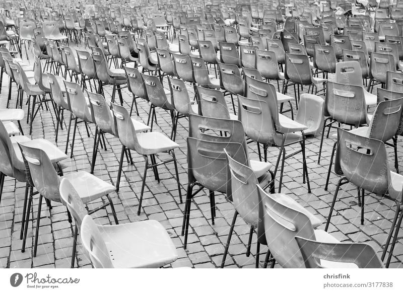 Chairs untidy on place Vacation & Travel Tourism Party Event Music Feasts & Celebrations Tourist Attraction Sit Gray Theatre Audience Places Opera Operetta