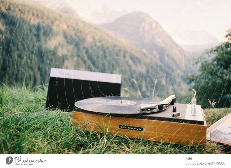 record player Lifestyle Style Design Leisure and hobbies Vacation & Travel Tourism Summer Summer vacation Mountain Party Music Disc jockey Culture Shows