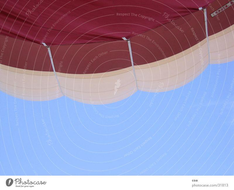 Sky White Blue Red Aviation Cloth Hot Air Balloon Sheath