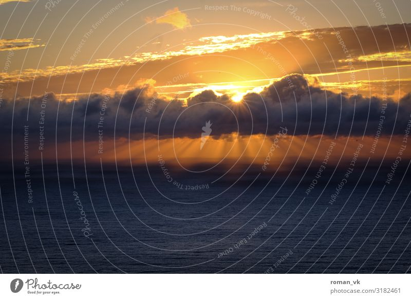 Sky Vacation & Travel Nature Water Ocean Clouds Joy Environment Cold Lighting Happy Freedom Orange Contentment Fresh Dream