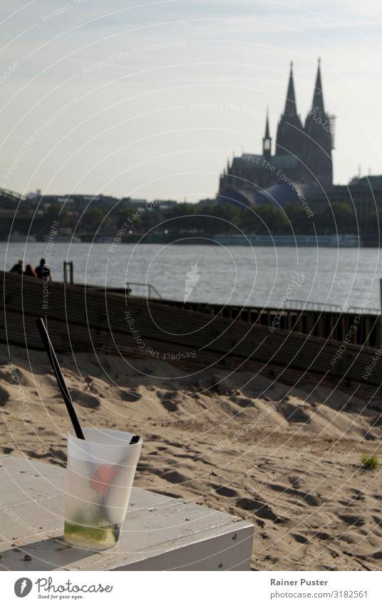 Summer Feelings: Cologne Cathedral and Long Drinks Beverage Lemonade Alcoholic drinks Longdrink Cocktail Sunbathing Beach Bar Cocktail bar Feasts & Celebrations