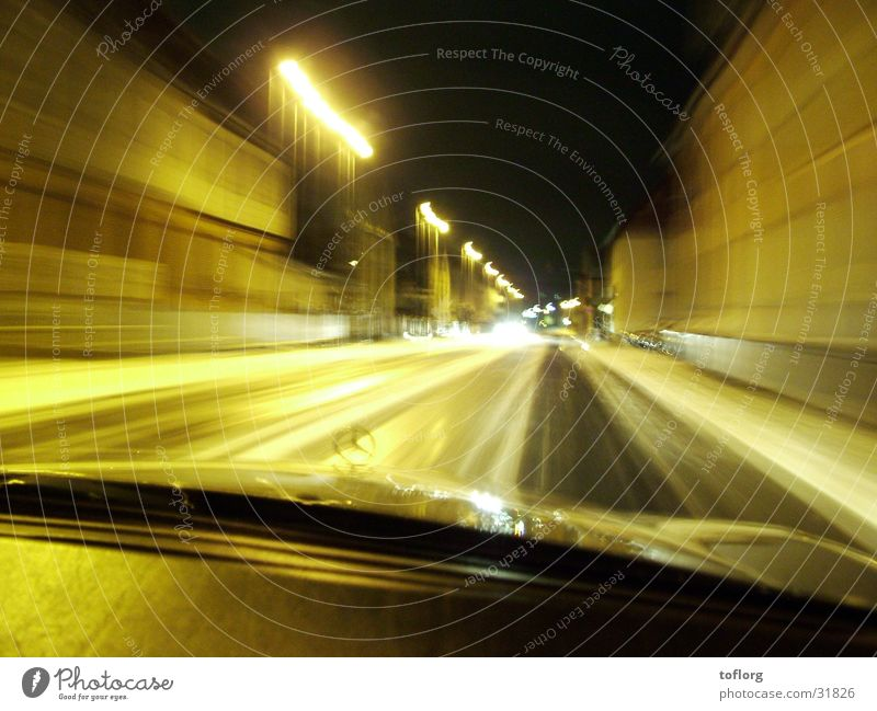 night drive Transport Light Night Car Snow Alcohol-fueled