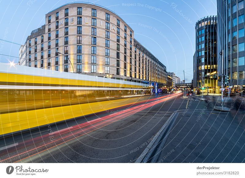 Berlin Friedrichstraße: Tram passes by Vacation & Travel Tourism Trip Adventure Sightseeing City trip Manmade structures Building Architecture