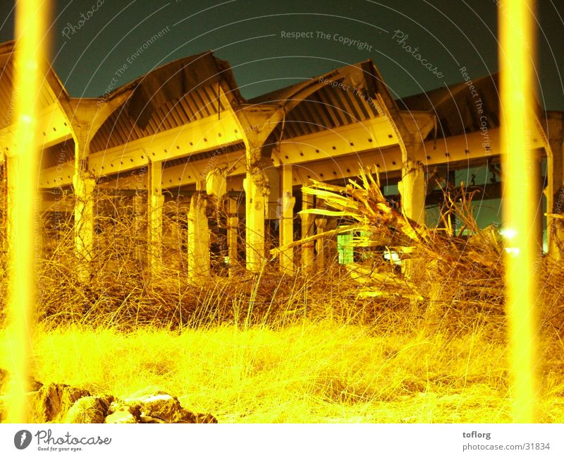 After the Inferno Ruin Night Factory Architecture Industrial Photography Share