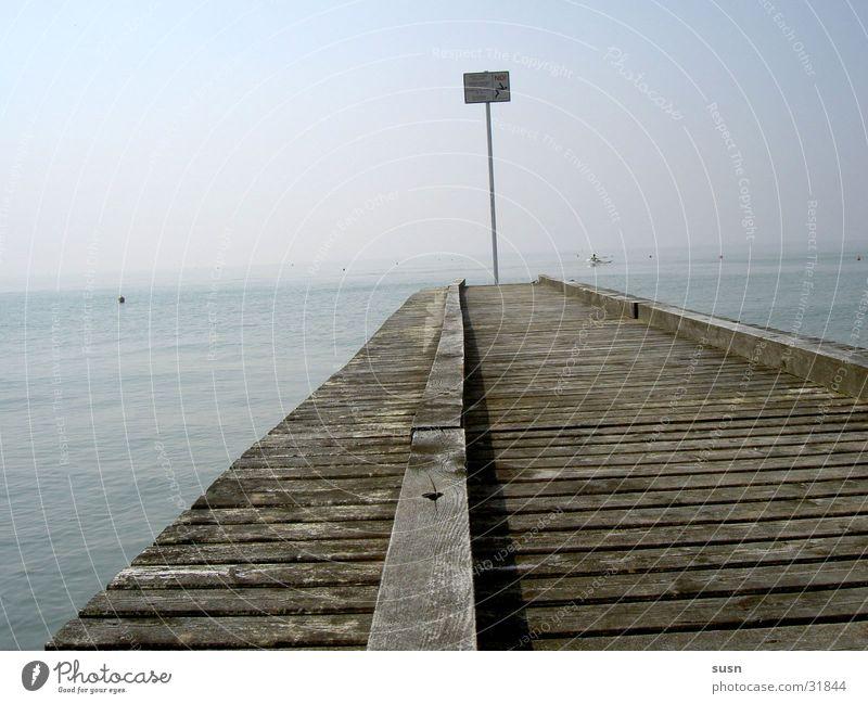 Beach Loneliness Far-off places Dark Europe Italy Footbridge