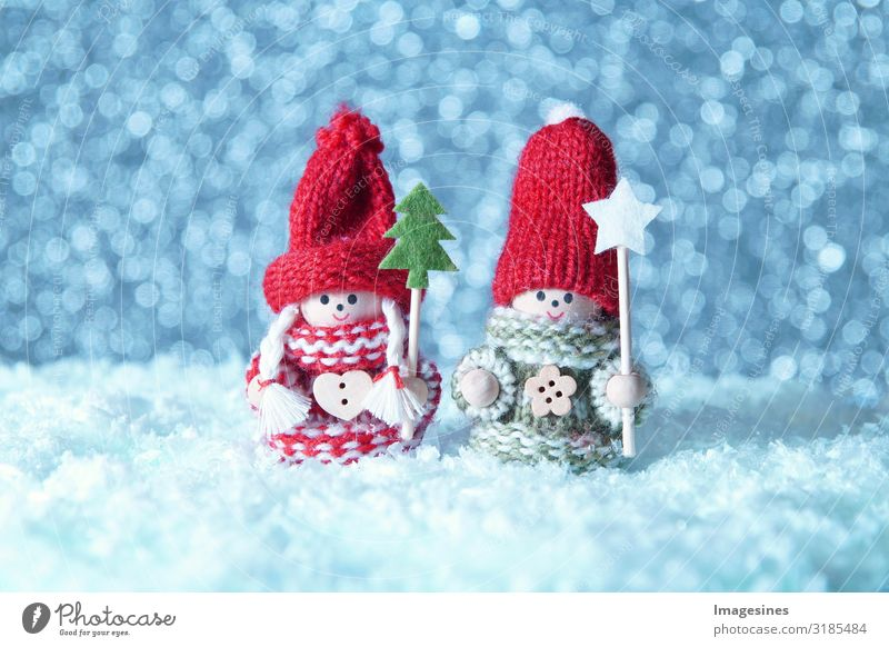 """Snow children dolls christmas Christmas & Advent Toys Doll Santa Claus Christmas Angel Christmas decoration Cold Moody """"Snowman toys,winter background"""