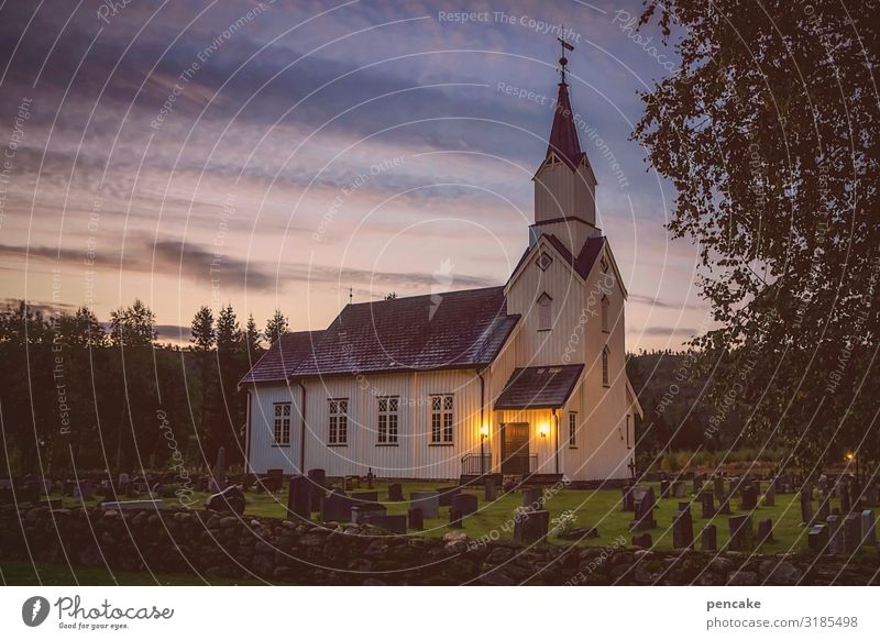 Sky Nature Landscape Religion and faith Moody Church Belief Peace Norway Experience Stave church