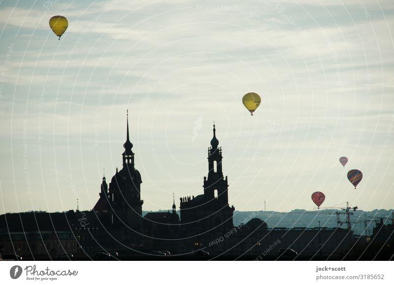high-flyer Church Air Beautiful weather Downtown Dresden
