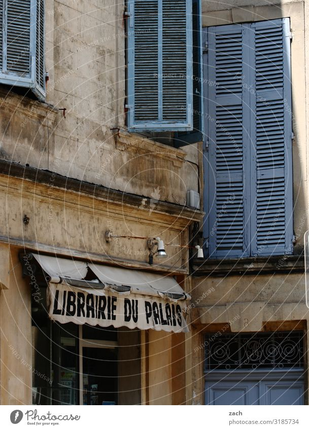 Librairia Trade Book Library France Village Small Town Downtown Old town Pedestrian precinct House (Residential Structure) Wall (barrier) Wall (building) Facade