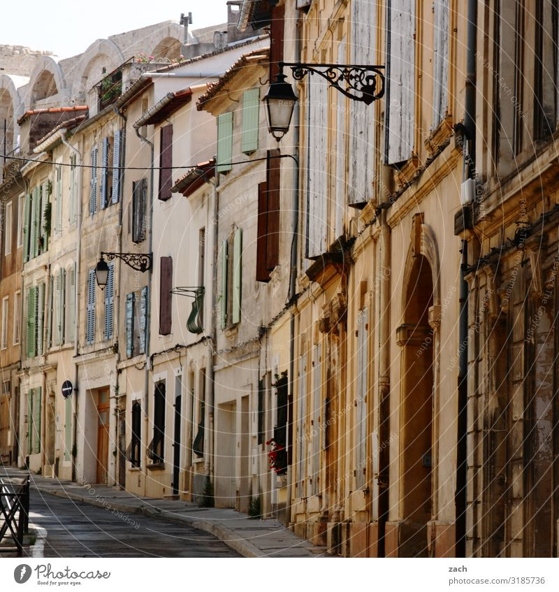 popular song France Village Small Town Downtown Old town Pedestrian precinct House (Residential Structure) Wall (barrier) Wall (building) Facade Window Door