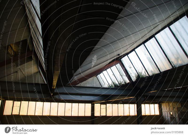 reverberant light Retro Large Tall Hall Brandenburg lost places