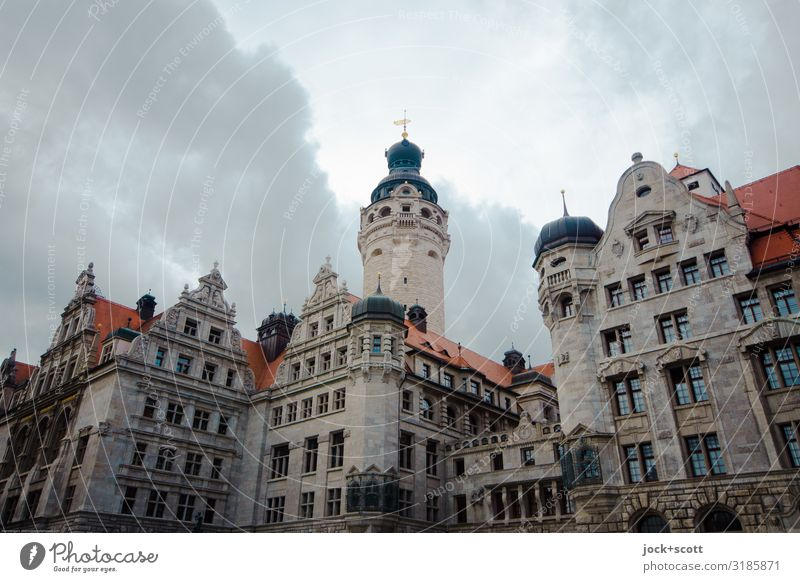 New City Hall Leipzig A Royalty Free Stock Photo From Photocase