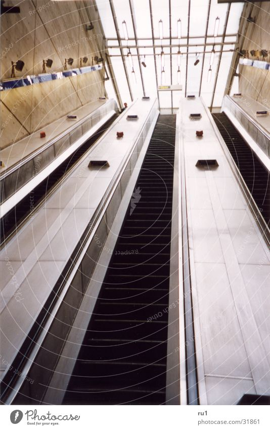 Movement Transport Mobility London Escalator