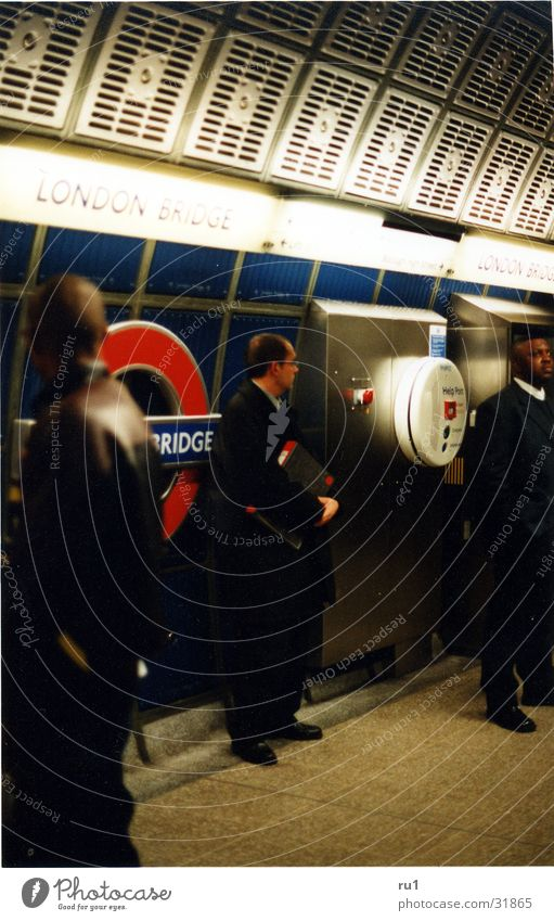 Human being Man Work and employment Business London London Underground England