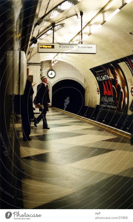 Woman Human being Wait Transport London London Underground England