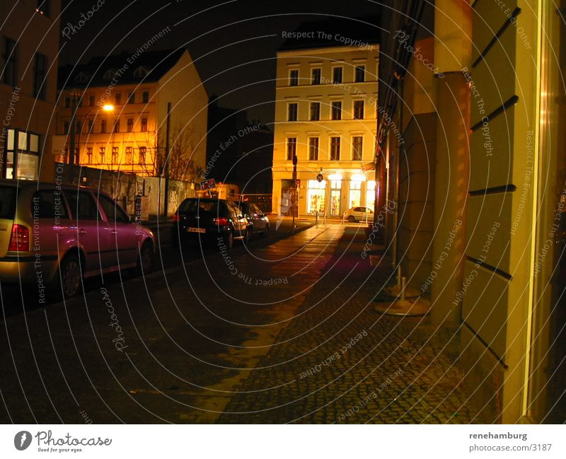 Street Dark Berlin Club
