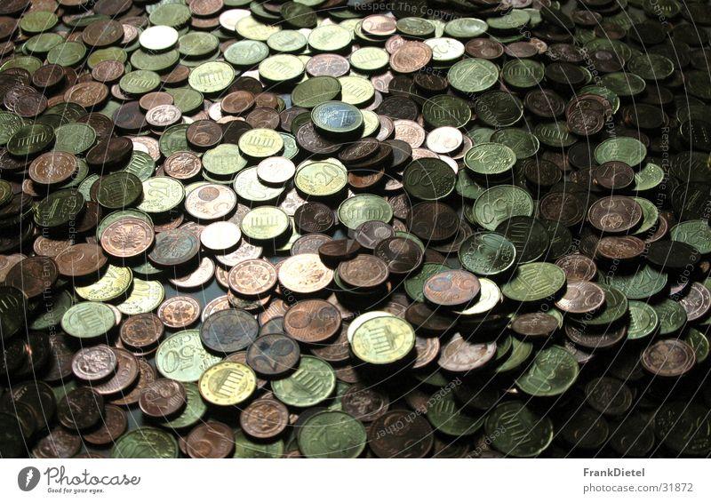 Money, Money Cent Coin Luxury pile of money Euro Close-up